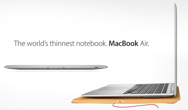 MacBook Air print advertisement