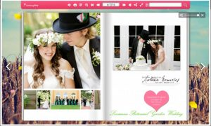 screenshot of Wedding Wire HTML5 Flipbook